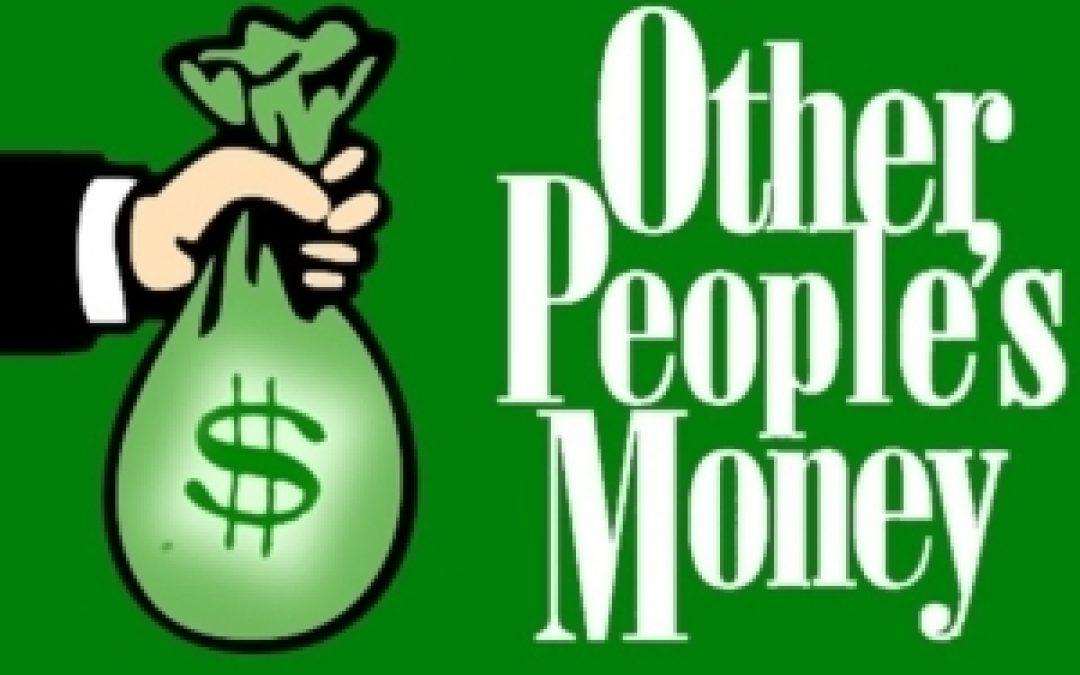 Making Money, or Taking Money